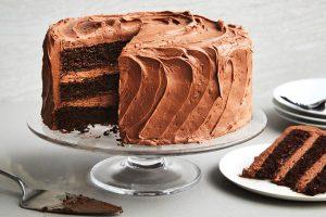 Bánh kem phủ chocolate